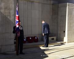 The laying of wreaths (© Freddie) Tags: london bermondsey se1 lbsouthwark oldjamaicaroad queens warmemorial rededicationqueensmemorial poppy fjroll ©freddie