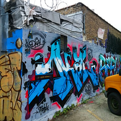 (BCalico) Tags: chicago wall graffiti paint rip spray graff fe kym stal kwt fene sael mahdu 2nr twoone dkal noteef