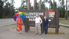 We all bagged the Sign (amenenhet6) Tags: park american yellowstone hijra