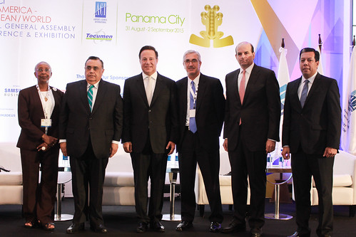 WAGA 2015 - His Excellency Mr. Juan Carlos Varela Rodriguez, President, Republic of Panama delivers a special welcome - 1 September 2015