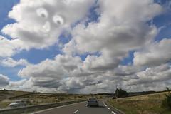 D809 - Millau (France) (Meteorry) Tags: road motion blur france june clouds landscape europe roadtrip route nuages millau aveyron 2015 midipyrnes meteorry lrmp d809 routedpartementale lacavalerie languedocroussillonmidipyrnes