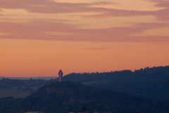 Wallace monument sunset (alanGmedia) Tags: sunset landscape scotland scenery stirling wallace