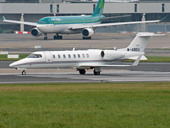M-ABEU Learjet 45 (Irish251) Tags: ireland dublin airport 45 ryanair dub learjet eidw mabeu ryr1
