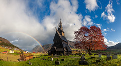 Norwegian Magic - Norway, Stave Church (Nomadic Vision Photography) Tags: travel autumn heritage norway fairytale europe vik historical magical jonreid hopperstadstavechurch tinareid nomadicvisioncom