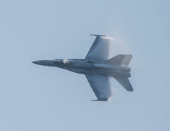 F/A-18 Hornet (nwalsh87) Tags: speed america jet fast airshow barrier marines hornet f18 vapour