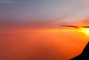 The Cloud Is On Fire (Boran Pivcic) Tags: sunset clouds aerialview