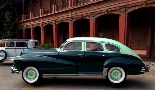 Pontiac 1947 Special Sedan Deluxe - Colección Lira, Museo Histórico Militar