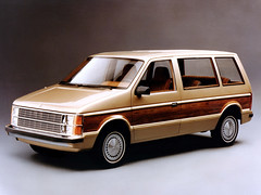 1984 Plymouth Voyager (biglinc71) Tags: plymouth 1984 voyager onthe2ndnovember1983 thefirstminivanrolledoffchryslersassemblylinethe1984plymouthvoyagerwasborn