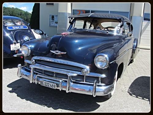 Chevrolet Fleetline Deluxe Fastback, 1949 (v8dub) Tags: auto old classic chevrolet car schweiz switzerland automobile suisse deluxe automotive voiture chevy american oldtimer oldcar 1949 collector fleetline fastback wagen pkw klassik bleienbach worldcars