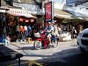 passenger. (elbmarcs.) Tags: street people urban colour pen thailand lumix asia bangkok olympus motorcycle 20mm chatuchak epl2