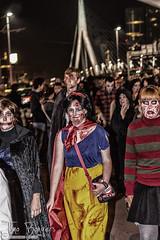 Zombie Walk Rotterdam 2015 (timobongers) Tags: urban halloween night walking death cool scary rotterdam zombie walk fear horror luxor 010 erasmusbrug coolsingel nieuwe binnenweg wilhelminaplein 2015 leuvenhaven maritiem zombiewalk derotterdam walkingdeath