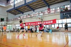 7thMoxaBadmintonIndustrialCup232 (Josh Pao) Tags: badminton 師大附中 羽球 大安站 moxa 第七屆 邀請賽 艾訊 四零四 axiomtek 工業盃 工業電腦盃