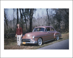 Vehicle Collection (6365) - Oldsmobile Rocket 88 (Steve Given) Tags: automobile familyhistory 1950s oldsmobile familycar rocket88
