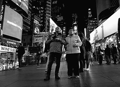 Where are the Painted Ladies (sinbadcc1) Tags: nyc couple manhattan timessquare streetphoto 2015