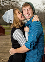 Noah & Kailey (Shawn Collins Photography) Tags: autumn winter portrait fall college photography couple youngcouple inlove alleghenycollege woodcocklake coupleshoot