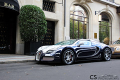 Bugatti Veyron Or Blanc (Chris Photography.) Tags: summer paris cars car canon or automotive bugatti legend blanc luxury supercar spotting supercars veyron orblanc chrisphotographymc
