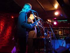 Ukulele Noir at Johnny D's (wildukuleleman) Tags: ukulele noir greg hawkes trio tim mann rick russo craig robertson somerville massachusetts johnny ds wildukuleleman