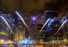 New Year's Eve Celebration Downtown Chicago, December 31, 2015