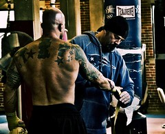 Actor John Joseph Quinlan - Former Cruiser Weight Boxing Champion of The World Character on Set Live Filming Prep @ Dullea's Boxing via Boston Film/Series with Trainer Greg Rich (TattooGirl6) Tags: irish film boston movie actors model fighter tattoos hollywood boxer movies actor spike series showtime trailer boxing fx fitness everlast lionsgate hbo pilot onlocation paramount malemodel punchingbag physique onset boxinggloves heavybag bostonmassachusetts tattooedmen boxingtrunks fitnessmodel bostonirish backtattoos sportsmodel tattoosleeves manofstone physiquemodel americanmalemodel irishmodel johnquinlan peabodymassachusetts guyswithtattoos actorslife tattooedguys tattooedmodels peterkarras videotrailer gregrich johnjosephquinlan johnquinlancovermodel irishmalemodels cruiserweightboxingchampionoftheworld cruiserweightboxingchampion irishmalemodel dulleasboxing formercruiserweightboxingchampionoftheworld jackdullea irishgermandescent johndullea