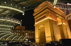 Vegas Arc de Triomphe (dr_marvel) Tags: vegas lasvegas nevada paris gambling casino eiffel eiffeltower night evening lights arcdetriomphe