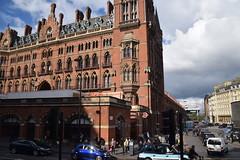 DSC_4158 London Bus Route #205 St Pancras Railway Station (photographer695) Tags: london bus route 205 st pancras railway station