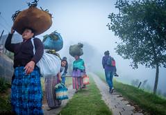 Hobbitenango, Guatemala (neritron) Tags: mayan people maya good persons workers mist misty group children old woman women niebla mujeres nios hobbitenango guatemala centro america nikon d750