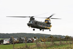 Boeing Chinook HC4 (Matt Sudol) Tags: centenary zh777 force air royal sqn squadron ac 28 museum helicopter mare super weston benson odiham raf hc4 chinook boeing