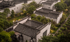 FOLDING BACK TIME. EXPLORED 10/22/2016 (Shanghai_Stefan) Tags: ancient chinese housings new park autumn ariel view