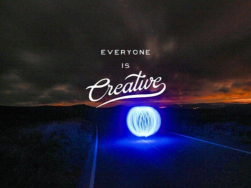 Everyone is Creative Thought this typography worked well the creative shot. #creative #orb #lightpainting #inpiration #abstract #longexposure #beautiful #blue #cairnomount #aberdeenshire #beautifulscotland #visitaberdeen #visitaberdeenshire #visitscotland