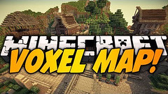 VoxelMap Mod (Minimap) 1.10.2/1.7.10 (KimNanNan) Tags: minecraft 3d game online video games