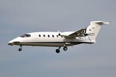 D-IZZY  BCN (airlines470) Tags: dizzy bcn msn 1034 piaggio p180 avanti airport airgo flugservice iraih n180rp n680jp