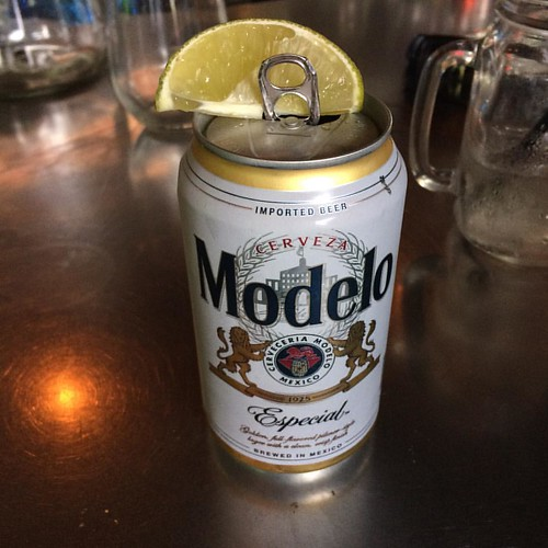 @pumpbar and I'm going to figure out how to get that #lime into the @modelousa #can. It's my current project. #beer #instabeer #okc #ok