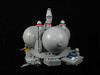 Space Station Centauri - Port side space port (Karf Oohlu) Tags: lego moc spacestation drydock spaceport microscale microspacetopia spaceship balls spire