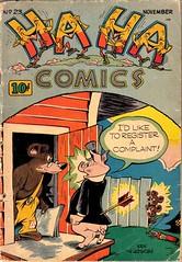 Ha Ha 23 (Michael Vance1) Tags: comicbooks cartoonist comics art artist anthology funnyanimals fantasy funny humor goldenage