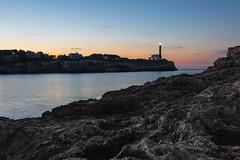 Sunrise over Portocolom (Burnett0305) Tags: balearicislands balearischeinseln blau hafen harbour himmel landscape landschaft landschaftnatur leuchttrum lighthouse majorca mallorca natur nature port portocolom sky sonnenaufgang sonydscrx10iii sonydscrx10m3 spain spanien sunrise blue espana
