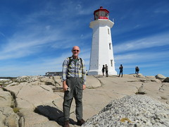 2016-091711K (bubbahop) Tags: 2016 canadatrip peggyscove novascotia halifax canada lighthouse bubbahop shaved bald head goatee