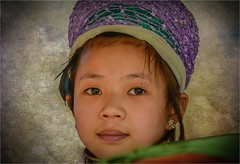 Thai young girl. (LDLS17) Tags: nia girl thai tribe tribu mujeresjirafa thaigirl