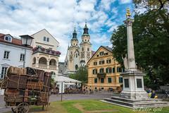 Brixen, 1000 Jahrsule und Dom (pego28) Tags: bressanone brixen sdtirol italien italy southtyrol holiday vacation urlaub 2016 nikon nikkor d800 dom sule domplatz stadt city