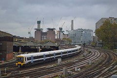465246, Battersea (JH Stokes) Tags: 465246 class465 southeastern london battersea zone1 trains trainspotting tracks transport railways photography emu electricmultipleunits edit