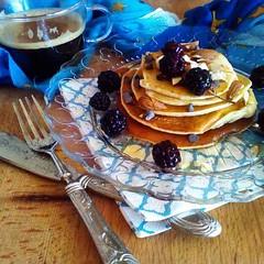 La ricetta velocissima dei pancake (RicetteItalia) Tags: ricetta colazione dolci