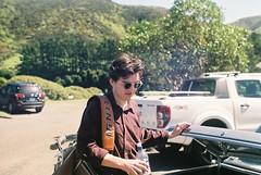 Summer Vibes (Denzel De Ruysscher) Tags: 35mm pentax colour film explore boy sunglasses sun green nature