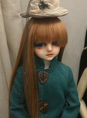Hat (Blue Kitsune) Tags: customhouse aidolls irus