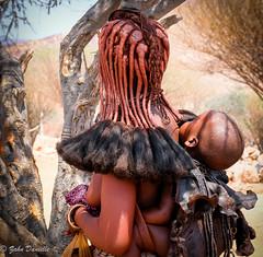 Mre enfant himbas (Marmad31) Tags: tribu himbas namibie