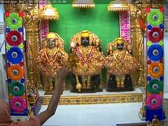 NarNarayan Dev Rajbhog Darshan on Wed 02 Nov 2016 (bhujmandir) Tags: narnarayan dev nar narayan hari krushna krishna lord maharaj swaminarayan bhagvan bhagwan bhuj mandir temple daily darshan swami rajbhog