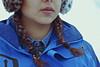 Do you wanna build a snowman? (TheJennire) Tags: photography fotografia foto photo canon camera camara colours colores cores light luz young tumblr indie teen vallenevado portrait detail self girl people chile trip winter cold braids snow