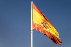 Spanish Flag (rschnaible) Tags: spain europe madrid flag national color colorful espana