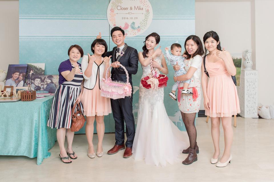 台南婚攝 婚禮紀錄 情定婚宴城堡 C & M 172