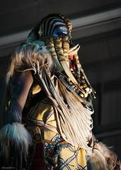 Apocalipsis (lagunadani) Tags: benidorm reatrato fiestas carrozas disfraz tribal jefe alicante sonya7 portrait