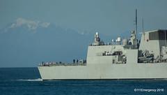 HMCS Vancouver (111 Emergency) Tags: wellington navy new zealand hmcs vancouver
