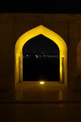 iran_005 (muddycyclist) Tags: panasonic lumix lx7 iran isfahan esfahan bridge night